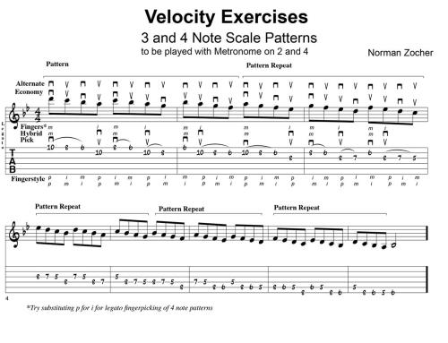 Velocity Techniques